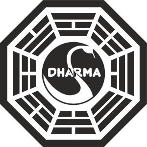 The Dharma Initiative - Station 3 - The Swan Logo Vector