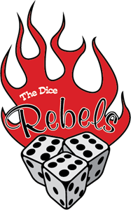 The Dice Rebels Logo Vector