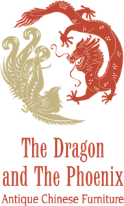The Dragon and The Phoenix Logo Vector