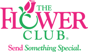 The Flower Club Logo Vector