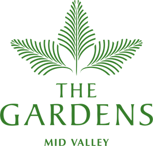 The Gardens Logo Vector
