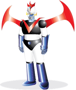 The Great Mazinger Logo Vector