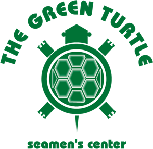 The Green Turtle Logo Vector