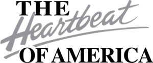 The Heartbeat of America Logo Vector