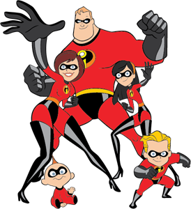 The Incredibles Logo Vector