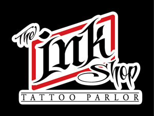 The Ink Shop Tattoo Parlor Logo Vector