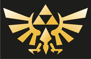 The Legend of Zelda(Triforce) Logo Vector
