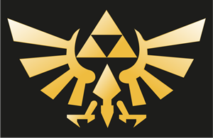 The Legend of Zelda Twilight Princess Logo Vector