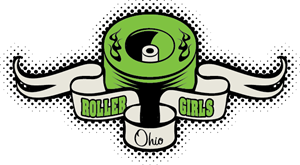 The Ohio Roller Girls Logo Vector