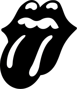 The Rolling Stones Tongue Logo Vector