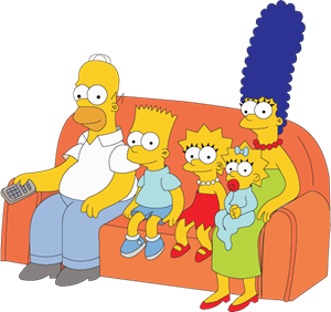 The Simpsons Logo Vector