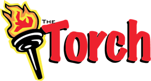 The Torch Logo Vector