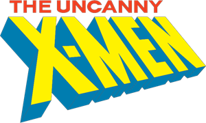 The Uncanny X-Men Logo Vector