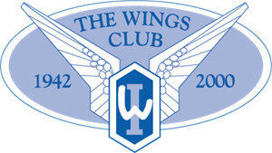 The Wings Club Logo Vector