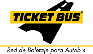 Ticket Bus Logo Vector