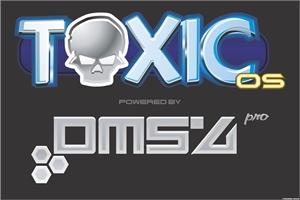 ToxicOS powered by DMS4 PRO Logo Vector