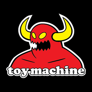 Toy Machine Logo Vector