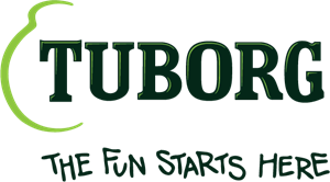 Tuborg- The fun starts here Logo Vector