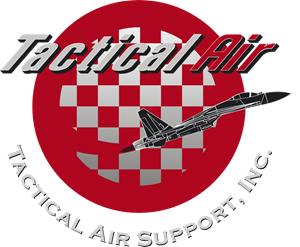 Tactical Air Support Logo Vector