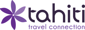 Tahiti Travel Connection Logo Vector