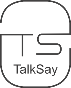 Talksay Language Logo Vector