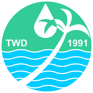Tandag Water District Logo Vector