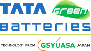 Tata Green Batteries Logo Vector