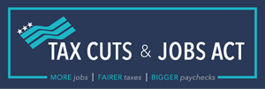 Tax Cuts & Jobs Act Logo Vector
