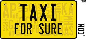 Taxi for Sure Logo Vector