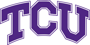 TCU Athletics Wordmark Logo Vector