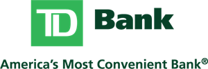TD Bank With Tagline Logo Vector