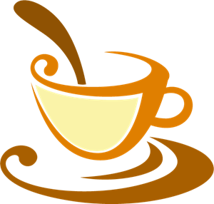 Tea Cups Logo Vector