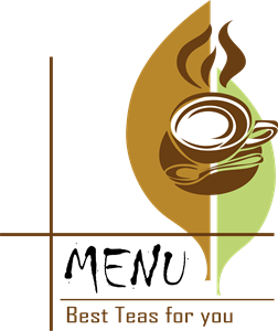 Tea menu Logo Vector