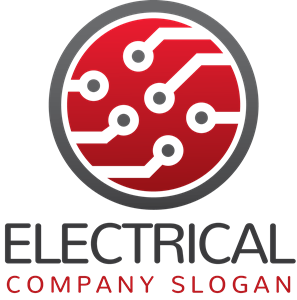 Technology Electrical Logo Vector