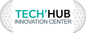 Technology hub Innovation Logo Vector