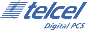 Telcel Digital PCS Logo Vector