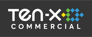 Ten-X Commercial Logo Vector