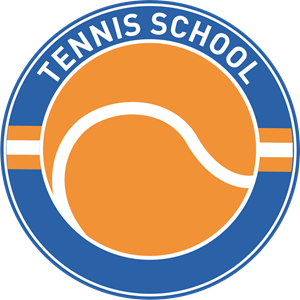 Tennis School Logo Vector