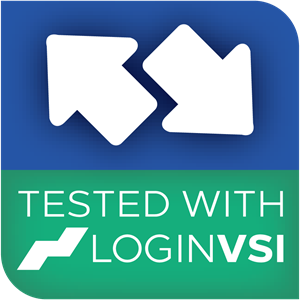 Tested with Login VSI Logo Vector