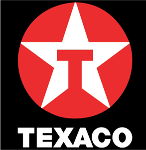 Texaco black Logo Vector