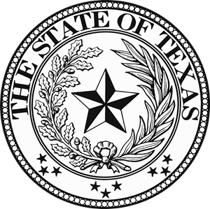 Texas State Seal Logo Vector