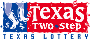 Texas Two Step by Texas Lottery Logo Vector