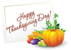 thanksgiving day elements Logo Vector