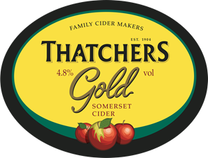 Thatchers Gold Cider Logo Vector