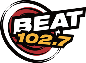 The Beat 102.7 Radio Logo Vector