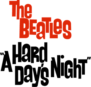 The Beatles a hard day's night Logo Vector