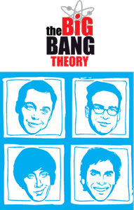 the big bang theory Logo Vector
