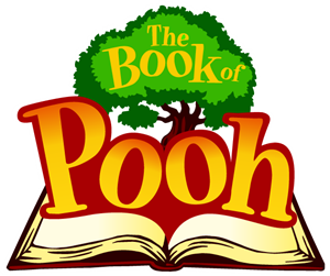The Book of Pooh Logo Vector