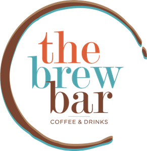 The Brew Bar Coffee & Drinks Logo Vector