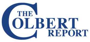 The Colbert Report plain Logo Vector
